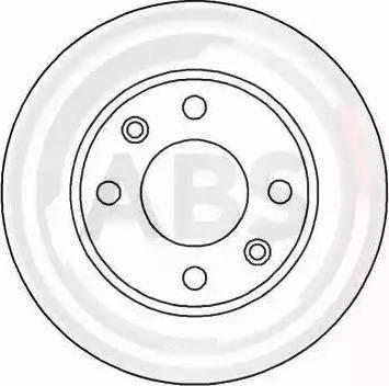 A.B.S. 15880 - Bremžu diski interparts.lv