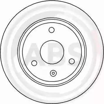 A.B.S. 15839 - Bremžu diski interparts.lv