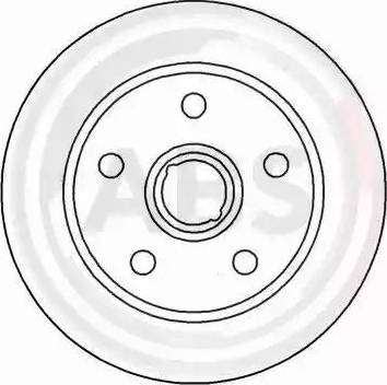 A.B.S. 15826 - Bremžu diski interparts.lv