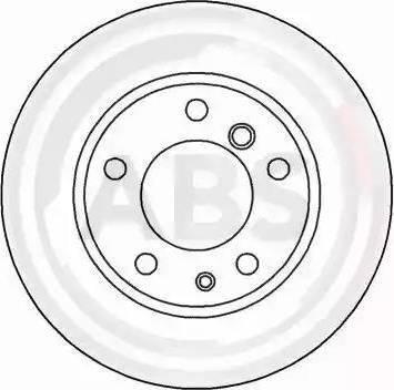 A.B.S. 15870 - Bremžu diski interparts.lv