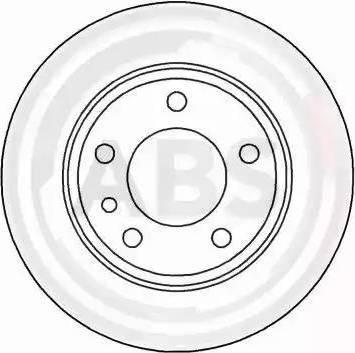 A.B.S. 15873 - Bremžu diski interparts.lv