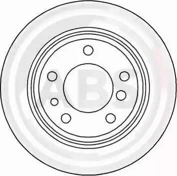 A.B.S. 15872 - Bremžu diski interparts.lv