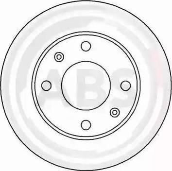 A.B.S. 15315 - Bremžu diski interparts.lv