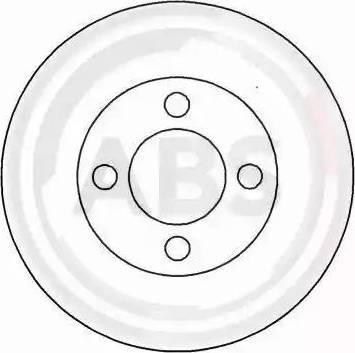 A.B.S. 15749 - Bremžu diski interparts.lv