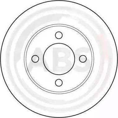 A.B.S. 15745 - Bremžu diski interparts.lv