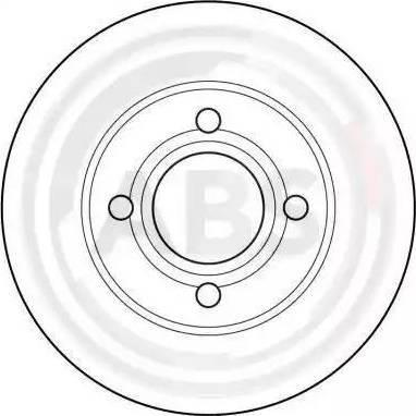 A.B.S. 15746 - Bremžu diski interparts.lv