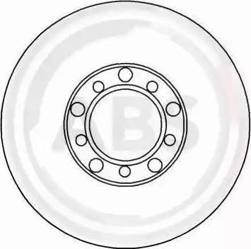 A.B.S. 15740 - Bremžu diski interparts.lv