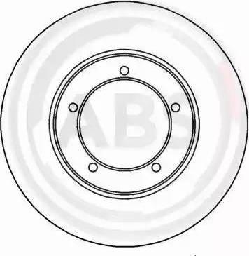 A.B.S. 15758 - Bremžu diski interparts.lv