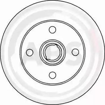 A.B.S. 15757 - Bremžu diski interparts.lv
