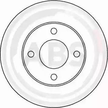 A.B.S. 15764 - Bremžu diski interparts.lv