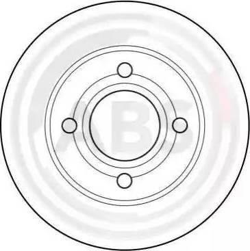 A.B.S. 15765 - Bremžu diski interparts.lv