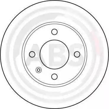 A.B.S. 15704 - Bremžu diski interparts.lv