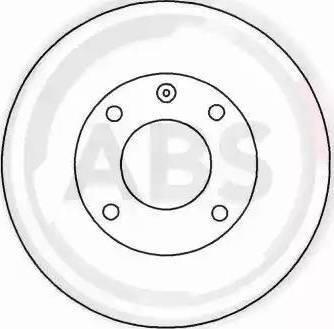 A.B.S. 15703 - Bremžu diski interparts.lv
