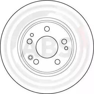A.B.S. 15789 - Bremžu diski interparts.lv