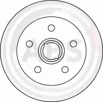 A.B.S. 15780 - Bremžu diski interparts.lv