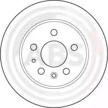 A.B.S. 15736 - Bremžu diski interparts.lv