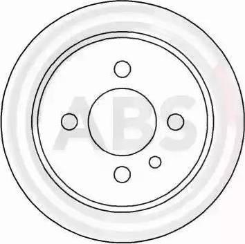 A.B.S. 15726 - Bremžu diski interparts.lv
