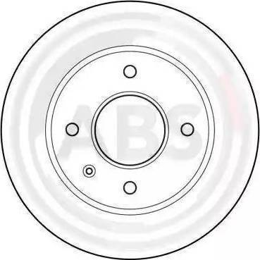 A.B.S. 15728 - Bremžu diski interparts.lv
