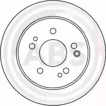 A.B.S. 15779 - Bremžu diski interparts.lv