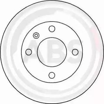 A.B.S. 15771 - Bremžu diski interparts.lv