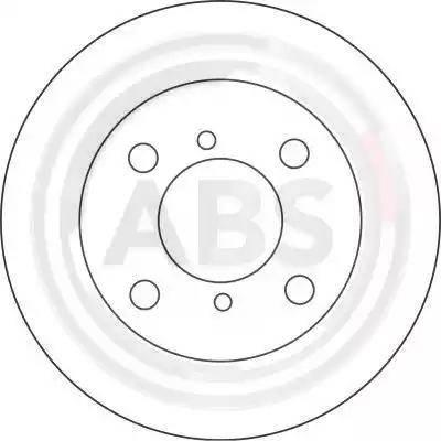 A.B.S. 16995 - Bremžu diski interparts.lv