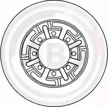 A.B.S. 16944 - Bremžu diski interparts.lv