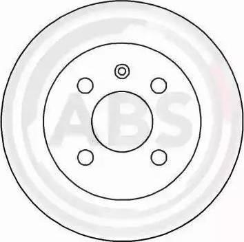 A.B.S. 16954 - Bremžu diski interparts.lv
