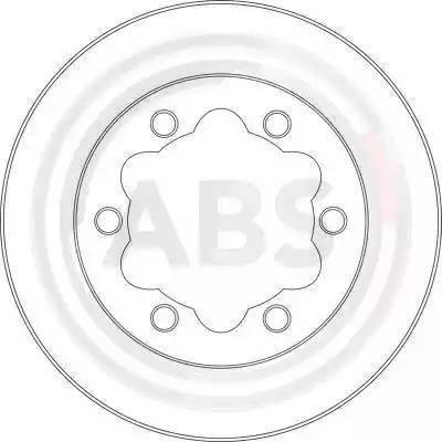 A.B.S. 16950 - Bremžu diski interparts.lv