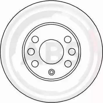 A.B.S. 16951 - Bremžu diski interparts.lv