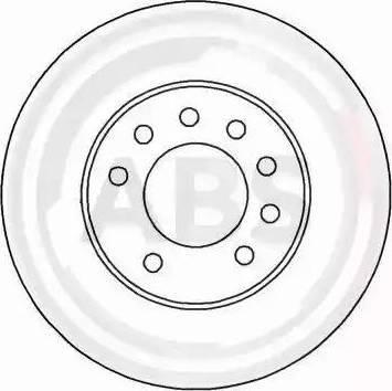 A.B.S. 16953 - Bremžu diski interparts.lv