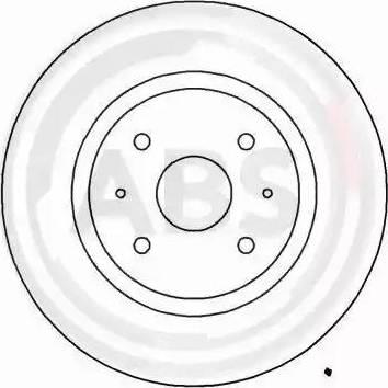 A.B.S. 16906 - Bremžu diski interparts.lv