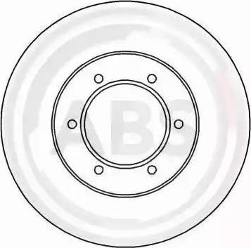 A.B.S. 16910 - Bremžu diski interparts.lv