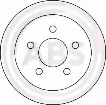 A.B.S. 16917 - Bremžu diski interparts.lv