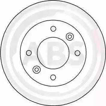 A.B.S. 16936 - Bremžu diski interparts.lv