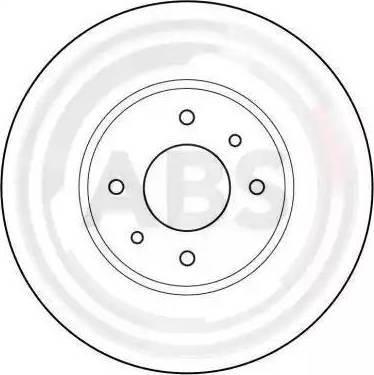 A.B.S. 16924 - Bremžu diski interparts.lv