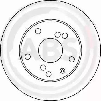 A.B.S. 16926 - Bremžu diski interparts.lv