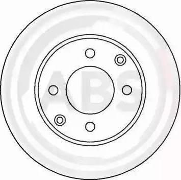 A.B.S. 16920 - Bremžu diski interparts.lv