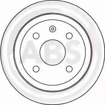 A.B.S. 16928 - Bremžu diski interparts.lv