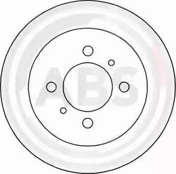 A.B.S. 16499 - Bremžu diski interparts.lv
