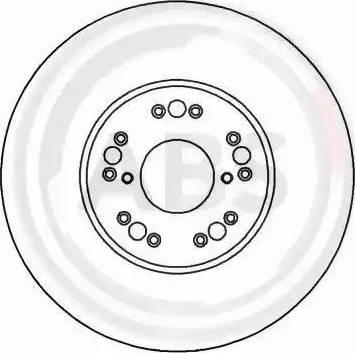 A.B.S. 16493 - Bremžu diski interparts.lv