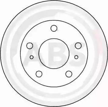 A.B.S. 16497 - Bremžu diski interparts.lv