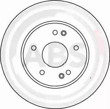 A.B.S. 16448 - Bremžu diski interparts.lv