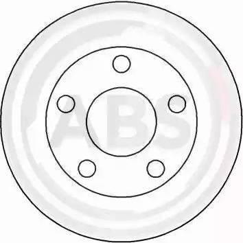 A.B.S. 16442 - Bremžu diski interparts.lv