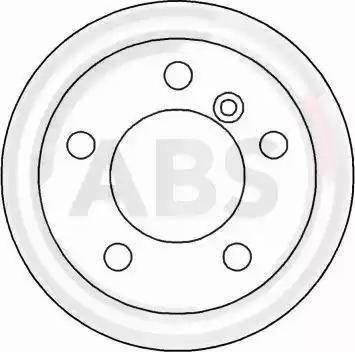A.B.S. 16454 - Bremžu diski interparts.lv