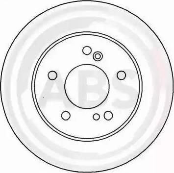 A.B.S. 16450 - Bremžu diski interparts.lv