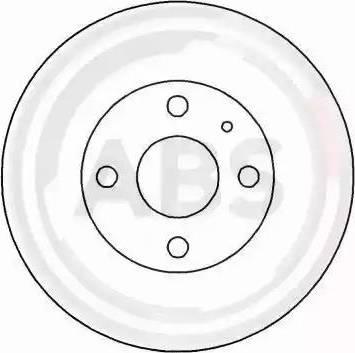 A.B.S. 16458 - Bremžu diski interparts.lv