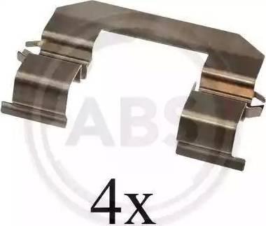 A.B.S. 1645Q - Piederumu komplekts, Disku bremžu uzlikas interparts.lv