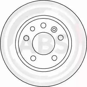 A.B.S. 16489 - Bremžu diski interparts.lv