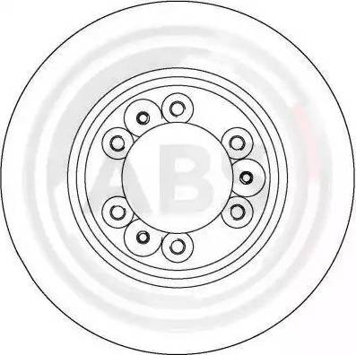 A.B.S. 16485 - Bremžu diski interparts.lv