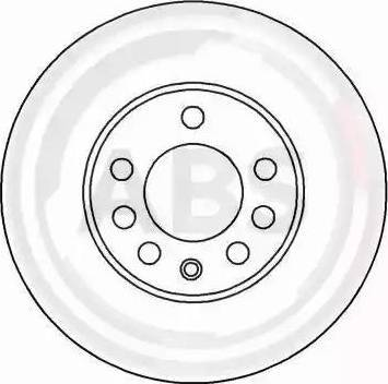 A.B.S. 16486 - Bremžu diski interparts.lv